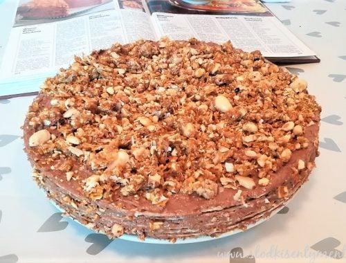 Wiedeński tort na waflach