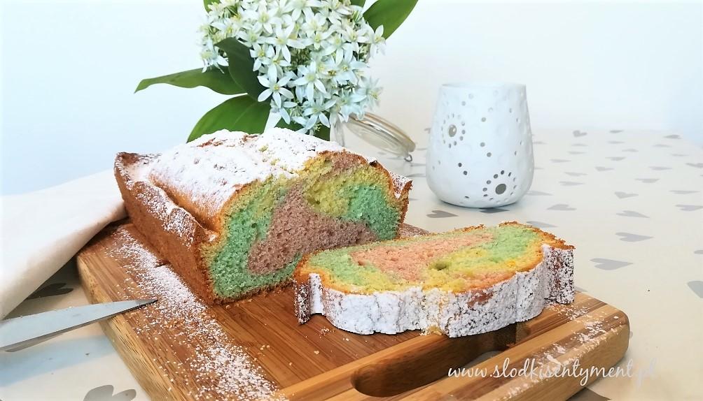Kolorowa babka kisielowa