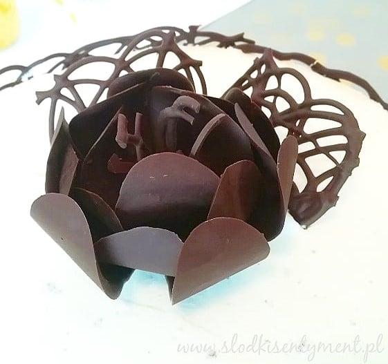Tort czekoladowo-miętowy