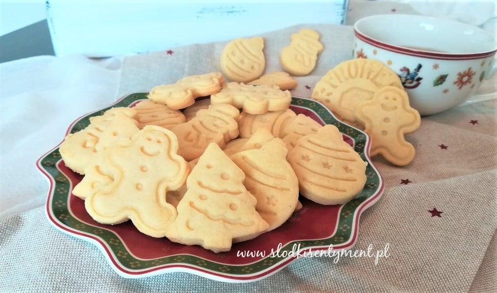 Ciasteczka maślane z wanilią