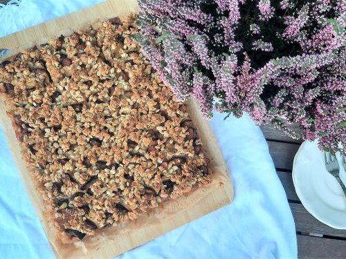 Ciasto karmelowe ze śliwkami