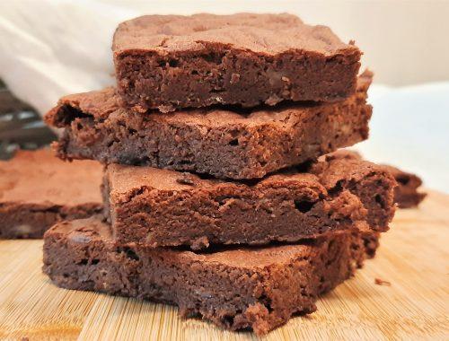 Brownie na białkach