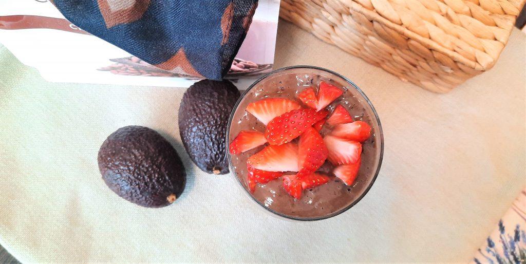 Szejk  czekoladowo-borówkowy